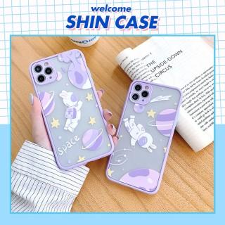Ốp lưng iphone Rabbit Space bảo vệ camera dành cho iphone 6 6S 6Plus 6SPlus 7 7Plus 8 8Plus X Xs XR Xsmax 11 11Pro 11Promax - ShinCase - v20 thumbnail