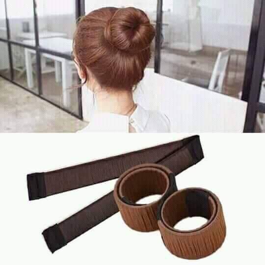 Giá mùa bão Dụng cụ búi tóc tạo kiểu tóc màu đen (1 cái)