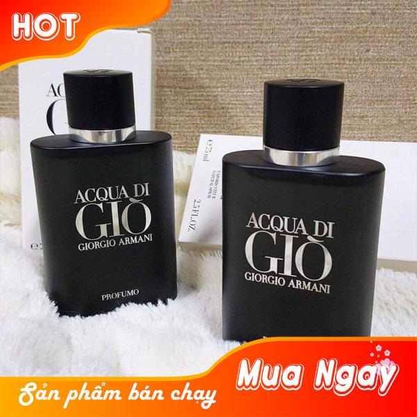[Mens Perfume] Nước Hoa Nam Cao Cấp A.C.Q.U.A DI GIO P.R.O.F.U.M.O - Mạnh Mẽ, Nam Tính, Sang Trọng, Đậm Chất Đàn Ông
