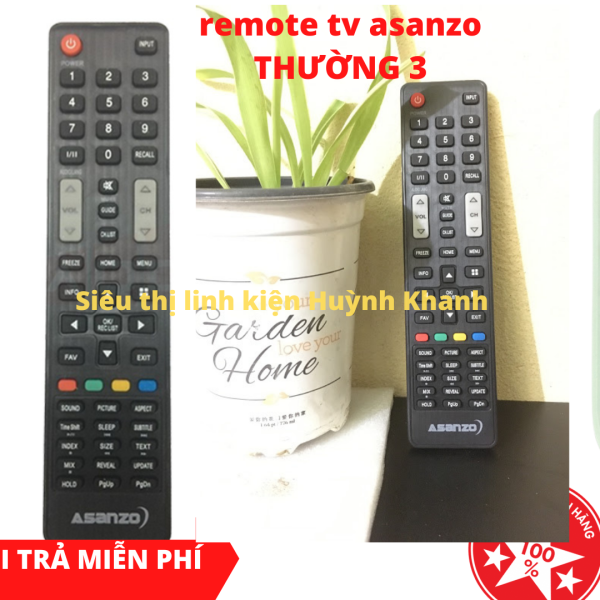 Bảng giá REMOTE TV ASANZO THƯỜNG 3 SIÊU BỀN ĐẸP CHÍNH HÃNG