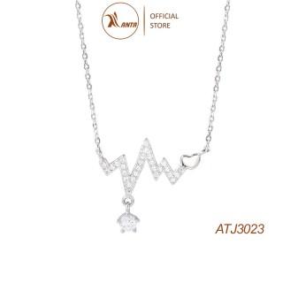 Dây chuyền bạc 925 Nhịp Trái Tim Phong Cách Hàn Quốc - ANTA Jewelry ATJ3023 thumbnail
