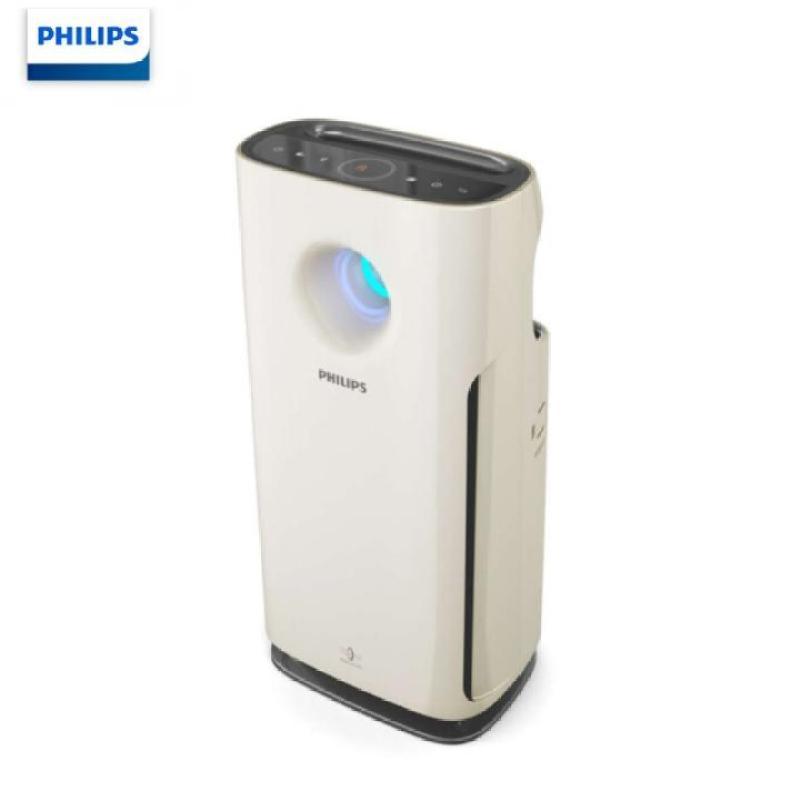 Máy lọc không khí cao cấp Philips AC3256/00, công suất 60W, cảm biến chất lượng không khí 4 màu (Màu trắng)