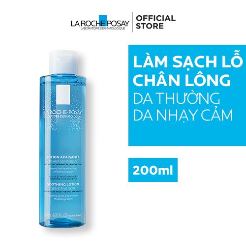 Nước Cân Bằng Giàu Khoáng Dành Cho Da Nhạy Cảm La Roche-Posay Soothing Lotion Sensitive Skin 200ml Đang Ưu Đãi Giá