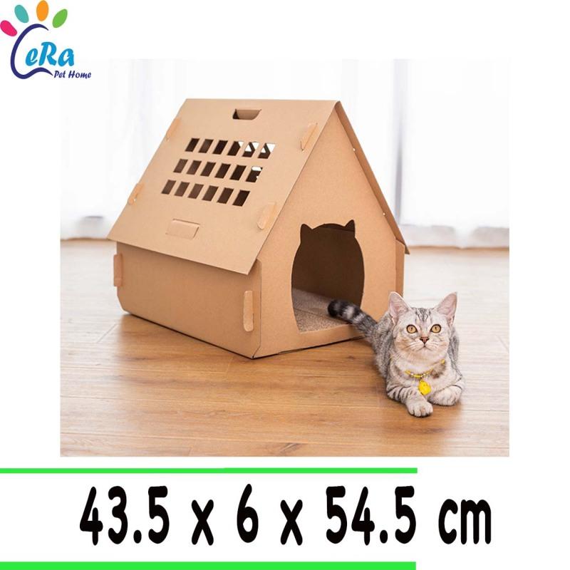 Nhà Giấy Cho Chó Mèo - Nhà Giấy 001