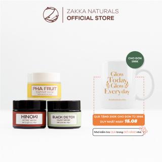 Trọn Bộ Mặt Nạ Giảm Mụn, Mịn Da Zakka Naturals 10 thumbnail