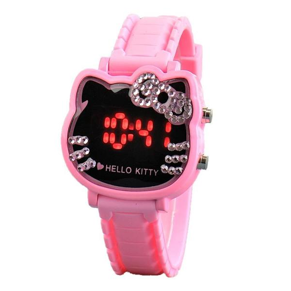 Đồng hồ trẻ em hello kitty dành cho bé gái bán chạy