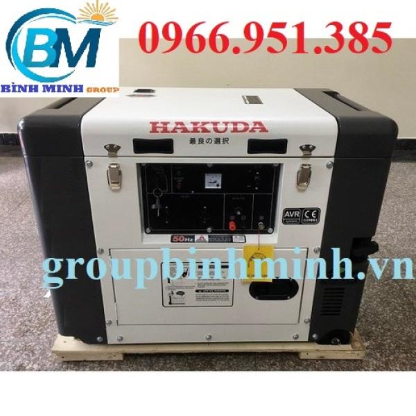 Máy Phát Điện Chạy Dầu 6Kw Hakuda HKD 6500ET