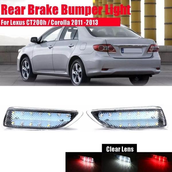 Car LED Rear Bumper Reflector Brake Light Tail Lamp for Toyota Corolla 2011 2012 2013 /for Lexus CT200H