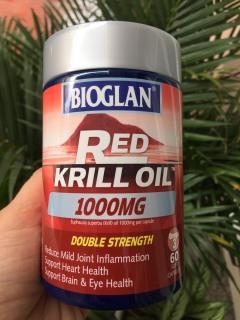 Dầu Nhuyễn Thể Bioglan Red Krill Oil 1000mg 60 Capsules thumbnail