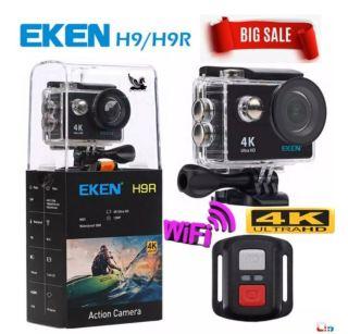 [ Version 8.0 nâng cấp lên 20MP] Camera hành trình 4K wifi Eken H9R (co remot) chất lượng 4K 30Fps, chụ ảnh 20Mp. Kết Nối Wifi Cao Cấp Tiện Lợi- BẢO HÀNH 1 ĐỔI 1 12 THÁNG thumbnail