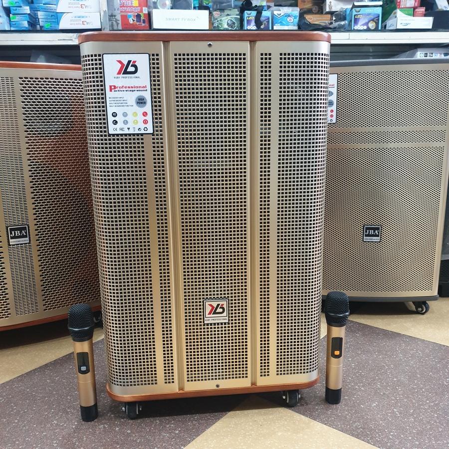 Loa kéo JBA SK-777,JBA-505, BK39, SK-8615-A, A-25, R15A-8, A18-S, A-6C loa karaoke di động thùng gỗ bass loa 4 tấc công suất đỉnh 900W, kèm 2 micro không dây