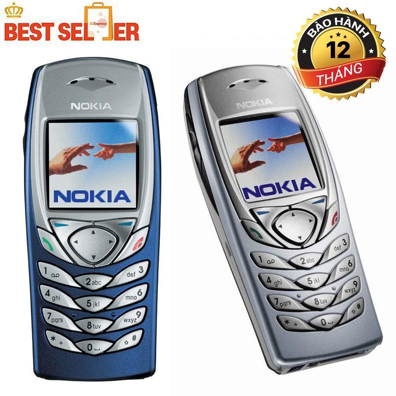 Điện thoại độc cổ NOKIA 6100 giá rẻ tặng kèm sim 3g 10 số