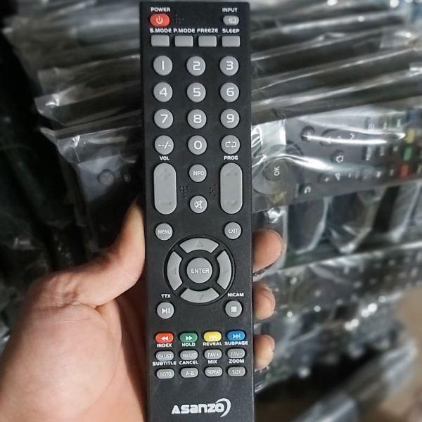 Bảng giá điều khiển tivi ASANZO vuông dầy
