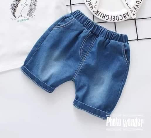 Quần đùi jean cho bé trai /gái