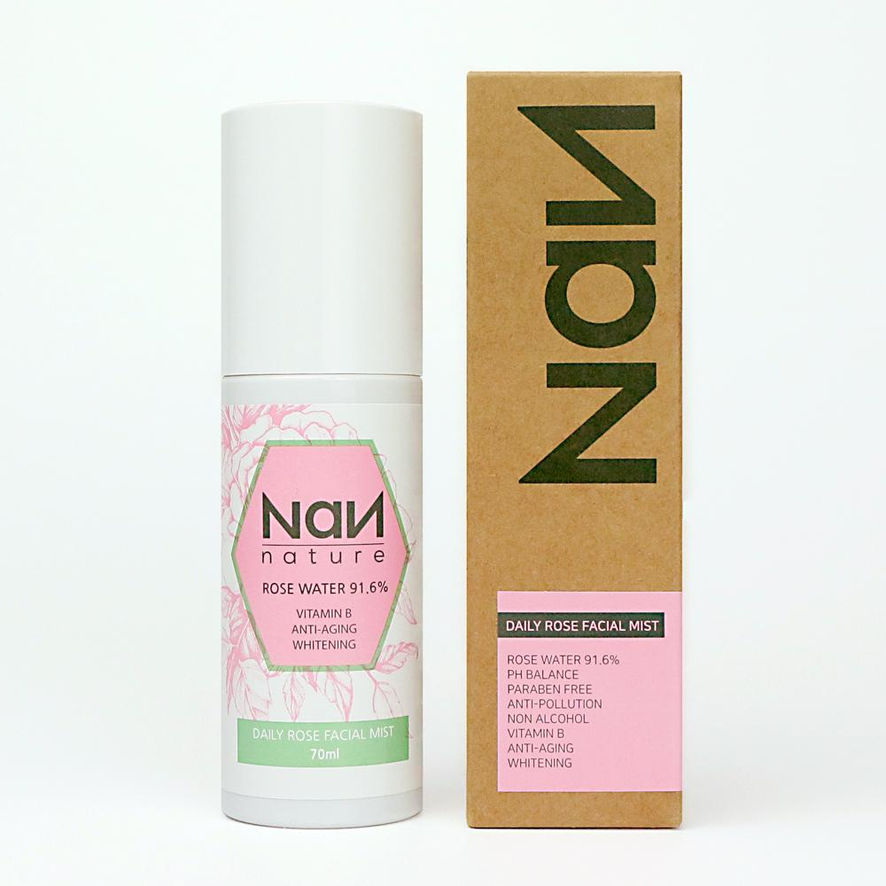 Xịt khoáng hoa hồng - NaN Nature Daily Rose Facial Mist tốt nhất