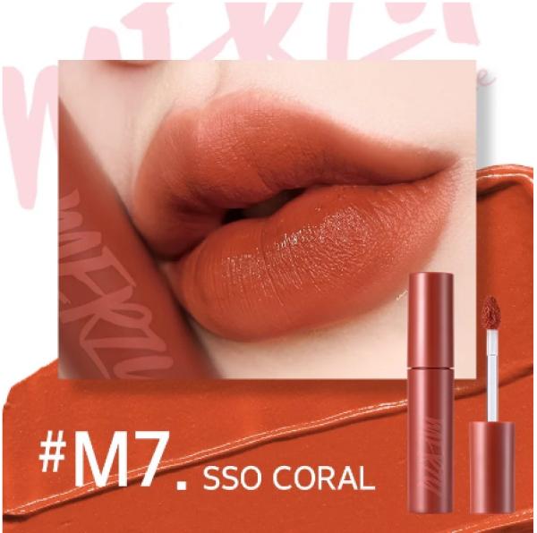 [New Ver.Girl][Màu M1-M8] Son kem lì Merzy Bite The Beat Mellow Tint 4g [Chính Hãng]