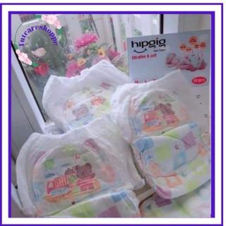 Combo 100 bỉm quần Hipgig hàng xuất Nhật cao cấp, cam kết hàng đúng mô tả, chất lượng đảm bảo, an toàn cho người sử dụng thumbnail