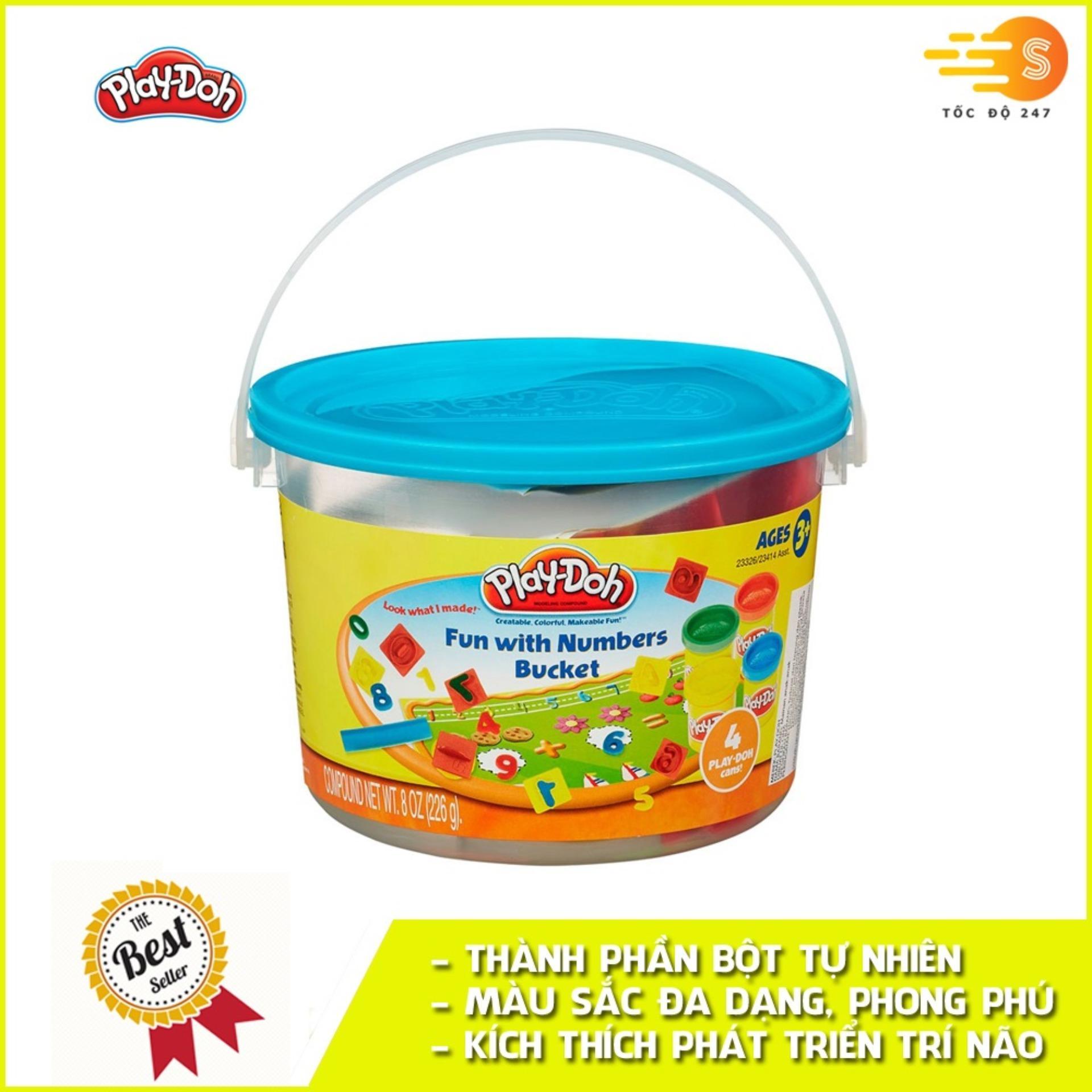 Bộ Bột Nặn Tạo Hình Thế Giới Sắc Màu Play-Doh 23414 Giá Siêu Cạnh Tranh