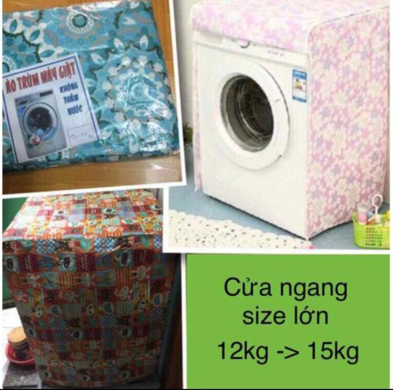 Bảng giá Áo trùm máy giặt cửa ngang 12kg-15 kg vải dù Điện máy Pico