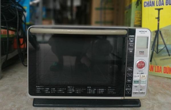 Lò vi sóng 3D có nướng bù ẩm HITACHI MRO-GF6 hàng Nhật nội địa [FREESHIP]. Bảo hành 1 năm. Bao test đổi lỗi