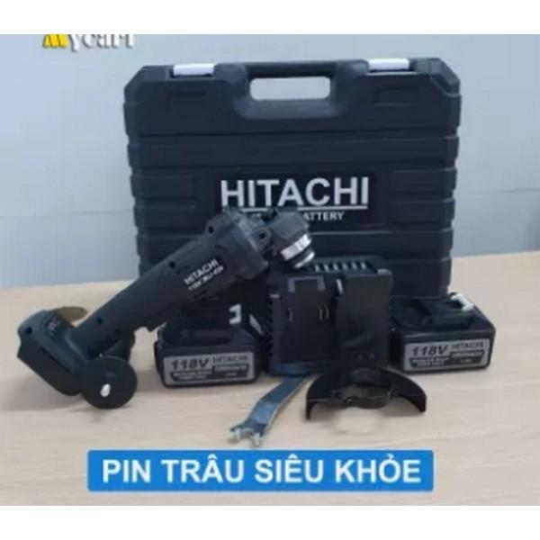 Máy Cắt Cầm Tay   118V  Máy Mài Góc  Máy Cắt Pin  02 Pin 10 Cell  Không Chổi Than
