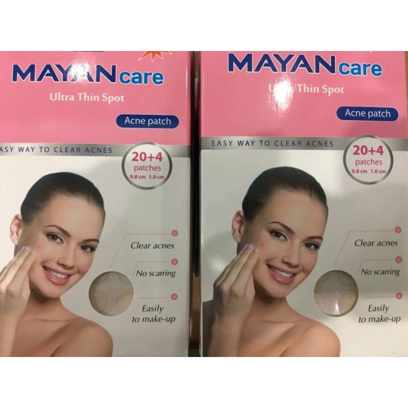Miếng Dán Mụn Mayan Care 20 Miếng giá rẻ