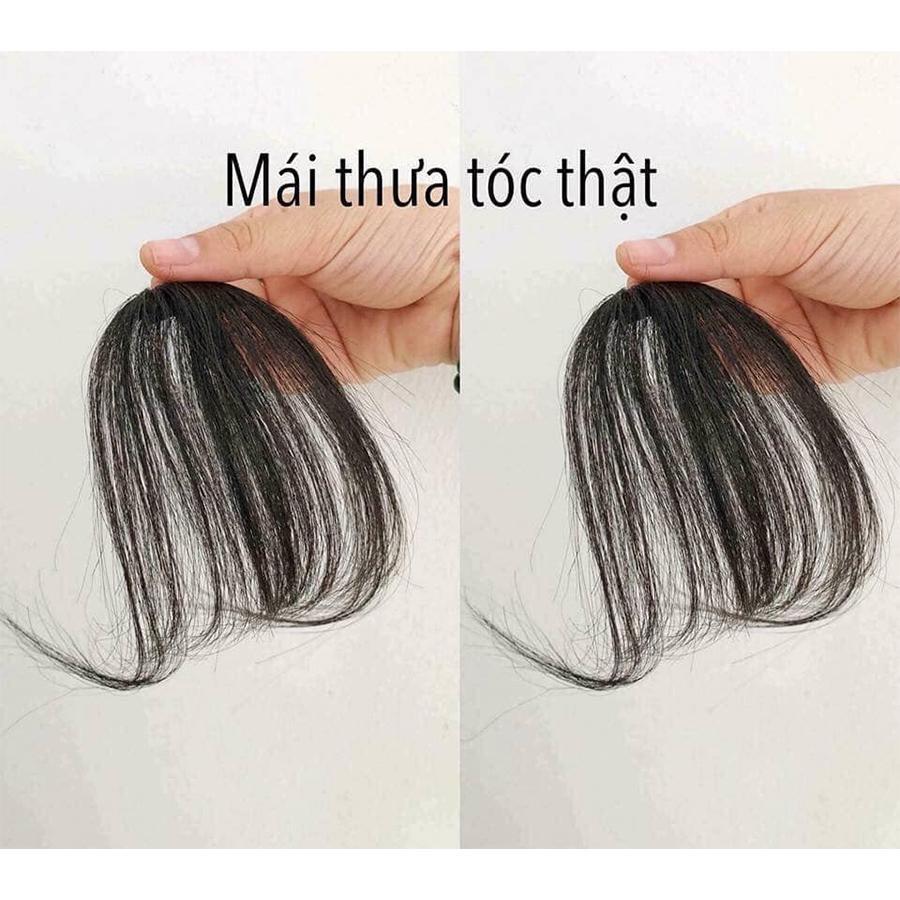 mái thưa tóc thật