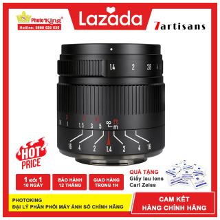 (Chính hãng) Ống kính MF 7Artisans 55mm f1.4 Mark II dành cho máy ảnh Fujifilm X, Sony E, Canon EOS-M, Olympus M43 và Nikon Z thumbnail