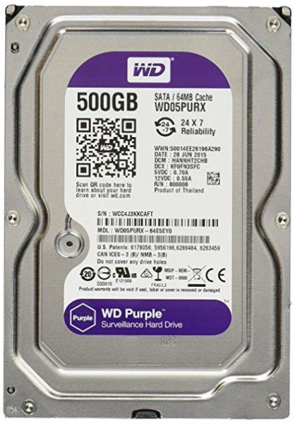 Giá HDD 500Gb WD PURPLE/ Seagate Surveilance Sata Chuyên Camera