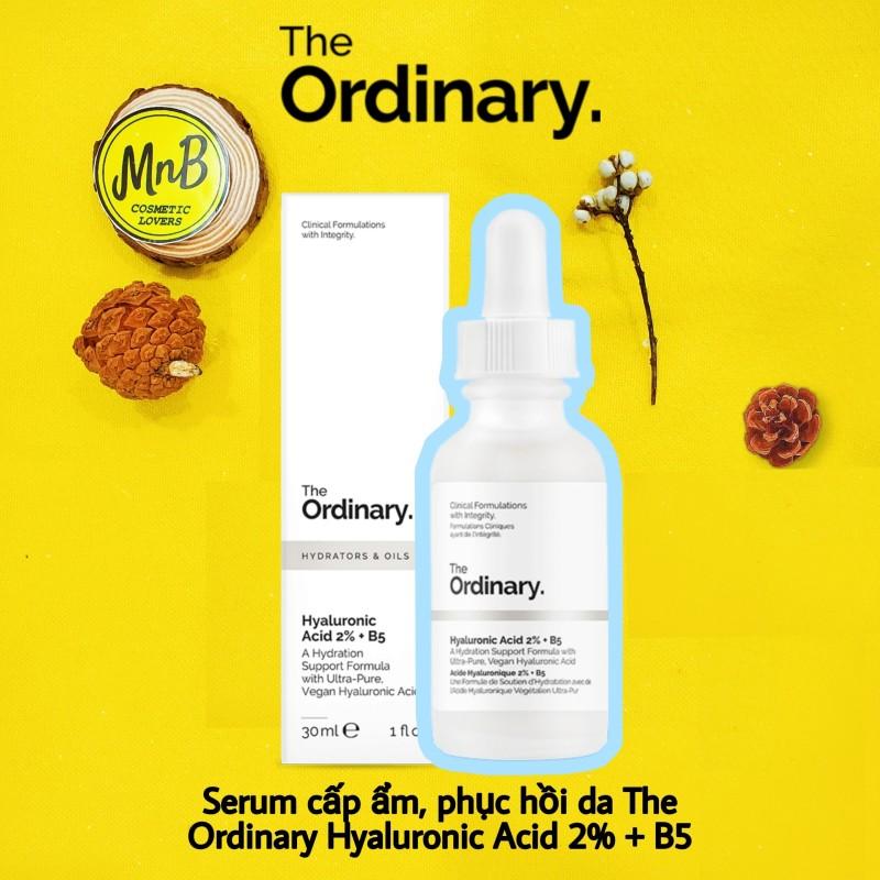 Serum dưỡng da The Ordinary Hyaluronic Acid 2% + B5 Serum cấp ẩm sâu và phục hồi da 30ml - MnB Store- giá rẻ