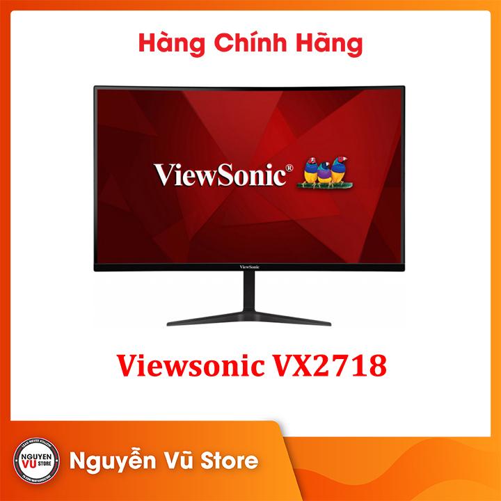 Màn hình Viewsonic VX2718-PC-MHD (27inch/FHD/VA/165Hz/1ms/250nits/HDMI+DP+Audio/Cong)