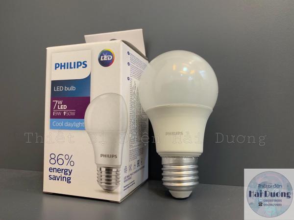 Bóng đèn LED Bulb 7w E27 Philips HV 1PF/20 GMGC (Trắng/Vàng)