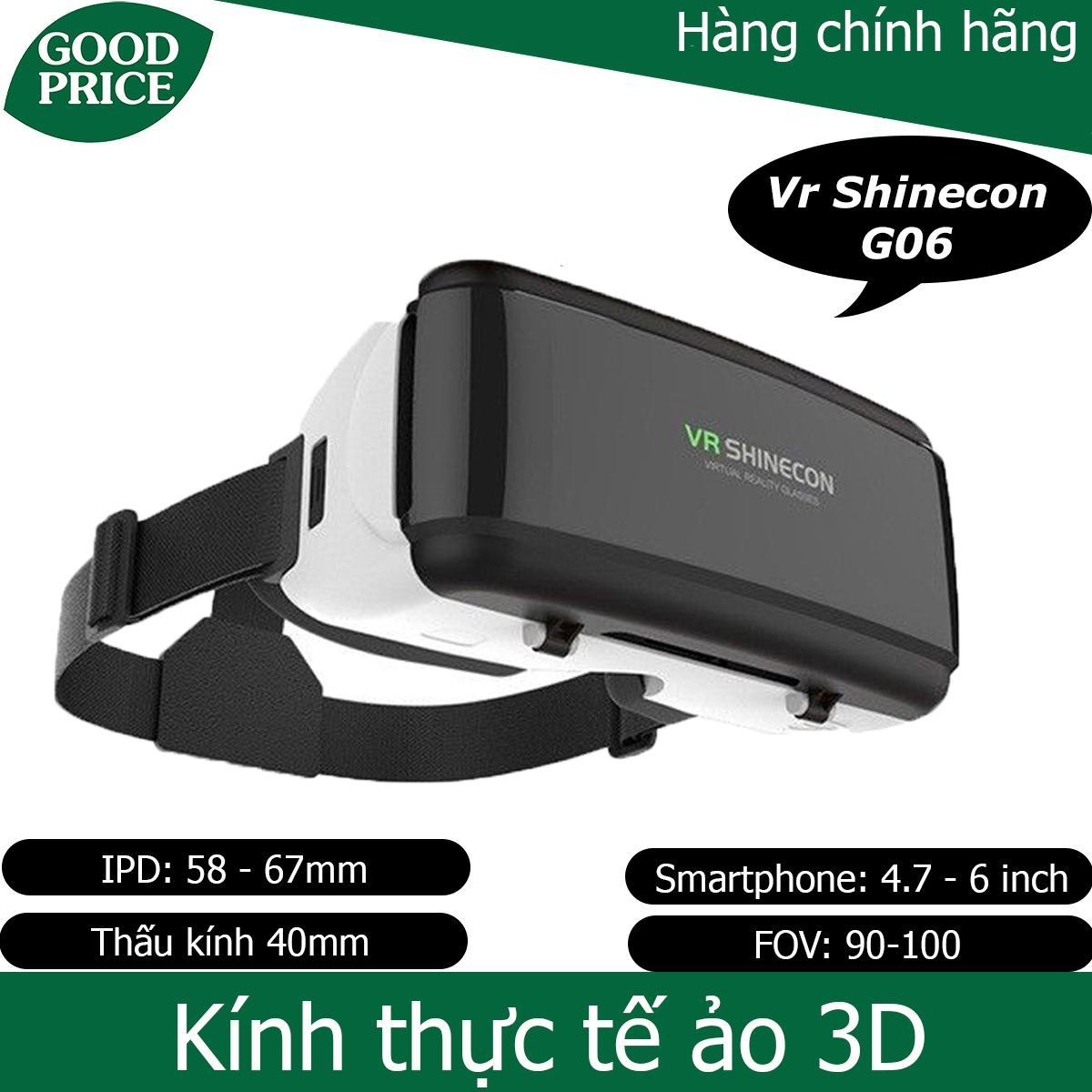 Kính thực tế ảo 3D Vr Shinecon G06