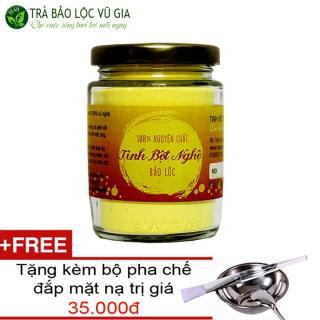Tinh Bô t Nghê Nguyên Châ t VG Farm 100gr + Tă ng Bô Đă p Mă t Inox [ Đã được kiểm nghiệm y tế ] thumbnail