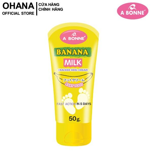 Kem Dưỡng Da Gót Chân A Bonne Banana Milk Cracked Heel Cream 50g cao cấp