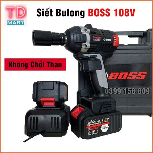 Máy Siết Bulong Boss 108V Pin Khủng  Động Cơ Không Chổi Than
