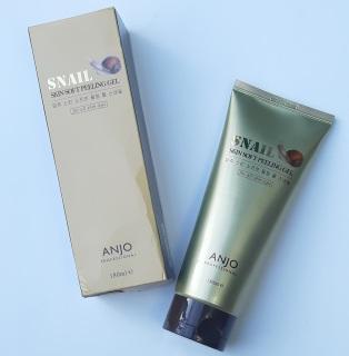[180 ML tái tạo làn da] Gel tẩy tế bào chết dưỡng trắng Snail Skin Soft Peeling Gel Whitening Facial Scrub Hàn Quốc thumbnail