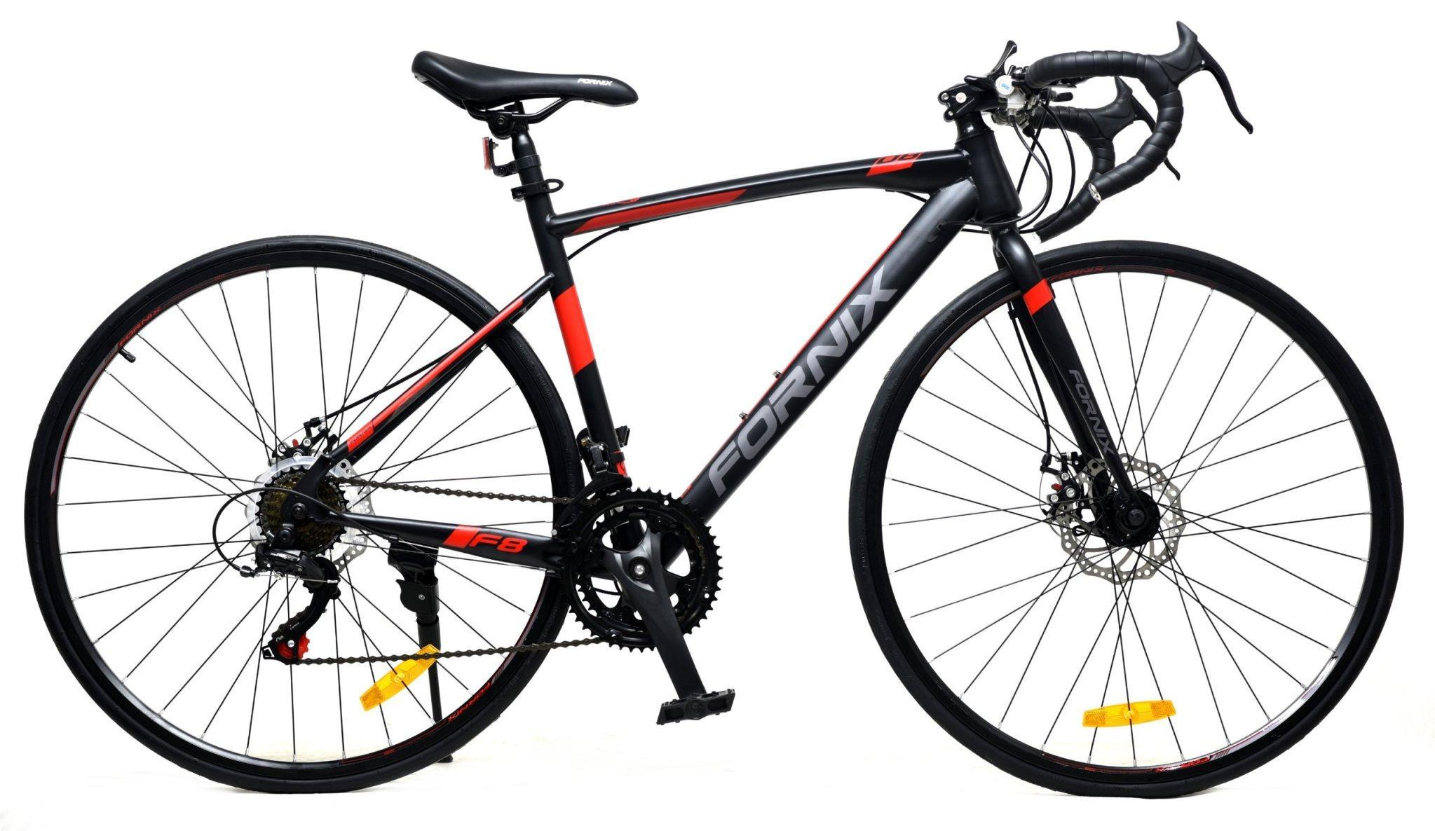 Mua Xe đạp đua đường trường Fornix F8, Khung Sườn hợp kim thép cao cấp, tay đề SHIMANO, bộ truyền động SHIMANO, tốc độ 14,  vòng bánh 29, 4 màu mới