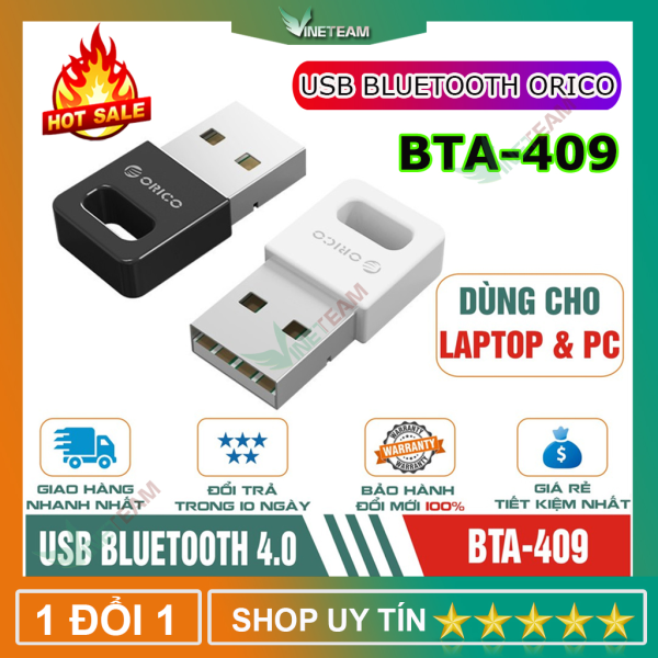 Bảng giá Thiết bị kết nối Bluetooth 4.0 USB ORICO BTA-409-BK Phong Vũ