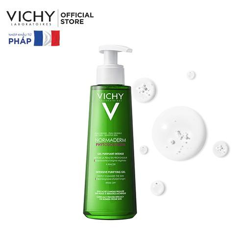 Vichy Gel Rửa Mặt Cho Da Dầu, Mụn Normaderm Phytosolution 200ml cao cấp