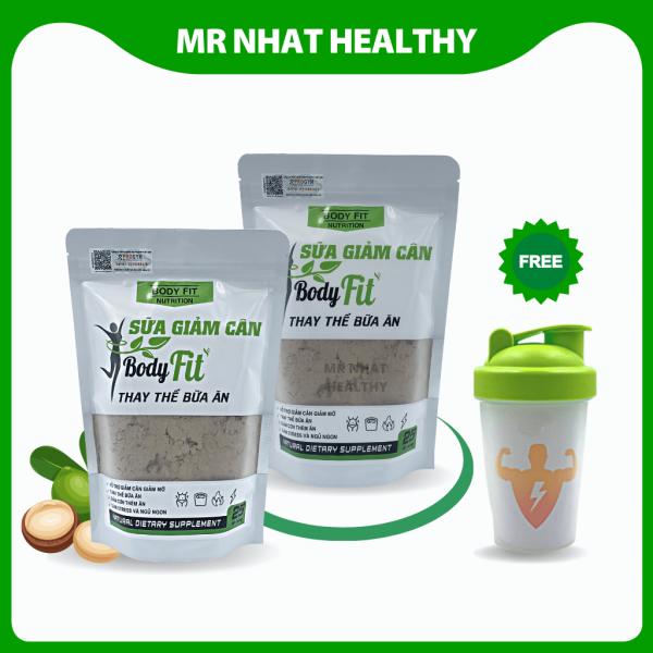 [Combo] 2 túi GIẢM CÂN Body Fit thực phẩm thay thế bữa ăn giảm cân toàn thân an toàn - weight loss 1Kg giá rẻ