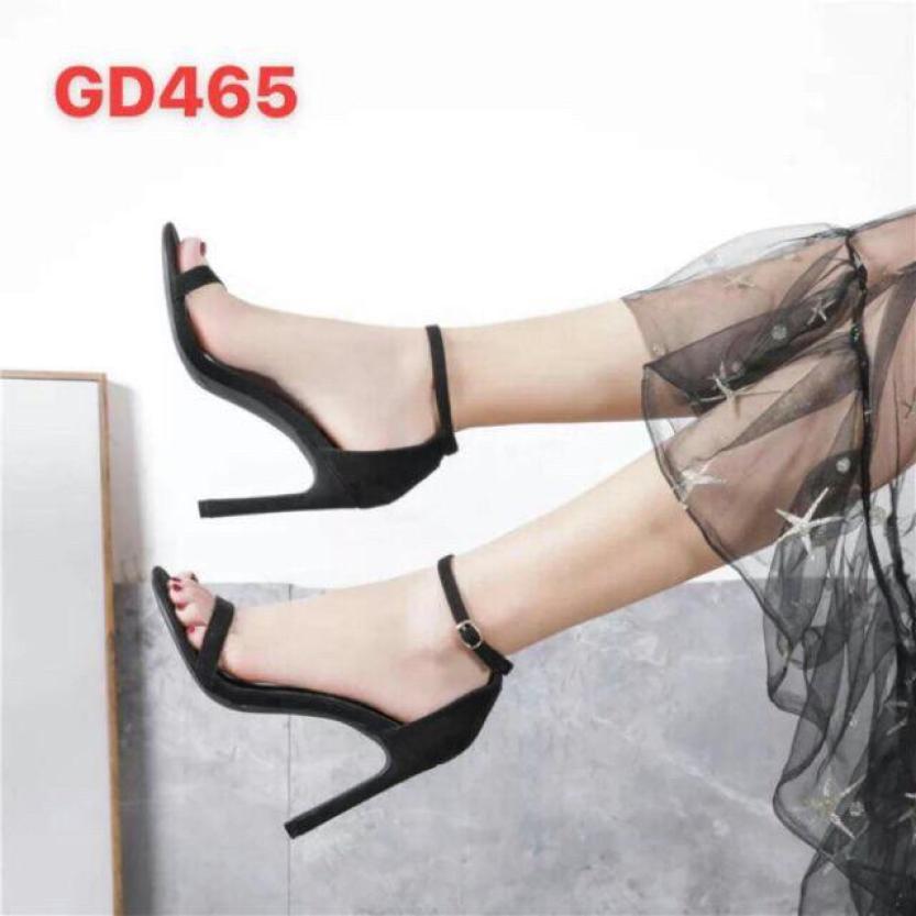 Ảnh thật và clip - Sandal cao gót 9p full box - SB01 giá rẻ