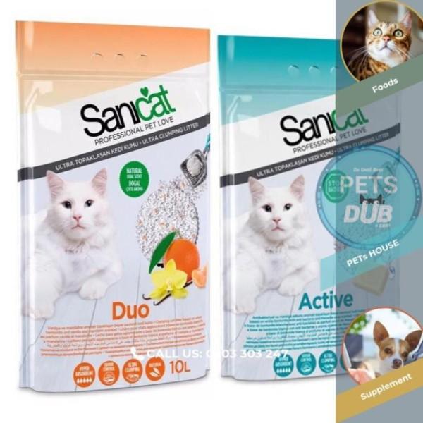 CÁT VỆ SINH CHO MÈO SaniCat (túi 10 lít) (PETs dub)