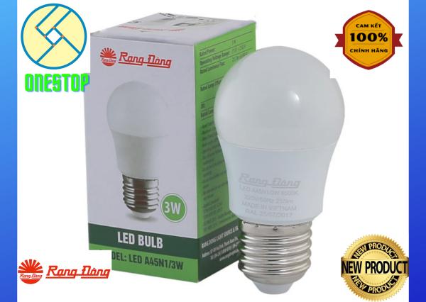 Bóng đèn LED BULB Tròn 3W Model: A45N1/3W.H