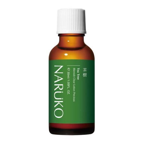 Naruko trà tràm lotion đậm đặc giảm mụn mảng, mụn đầu đen, mụn ẩn 30 ml – Naruko Tea Tree Blemish Clear Lotion Precious 30 ml