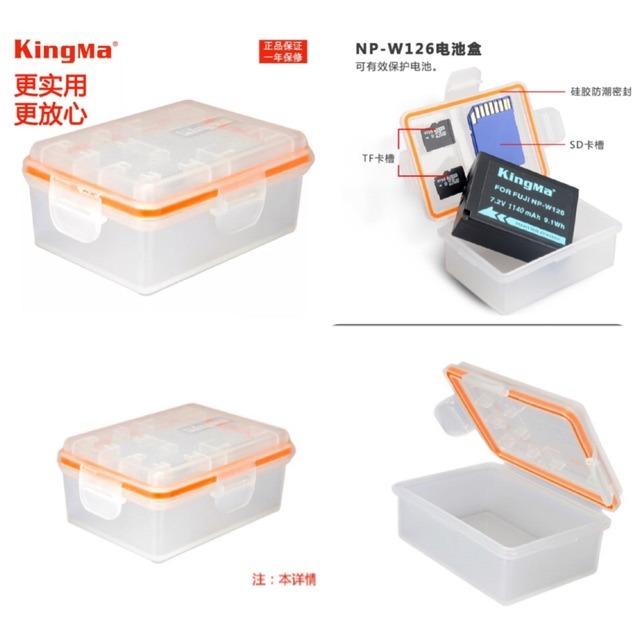 Giá Hộp đựng Pin + thẻ nhớ Kingma
