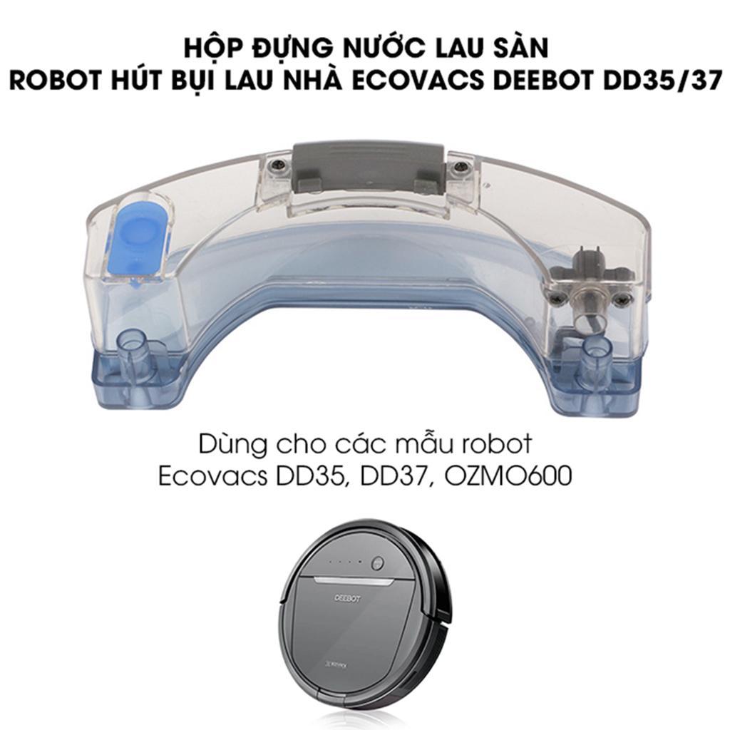 Bảng giá Hộp đựng nước robot hút bụi lau nhà Ecovacs Deebot DD35 dùng cho các mẫu robot Ecovacs DD35, DD37, OZMO600 Điện máy Pico
