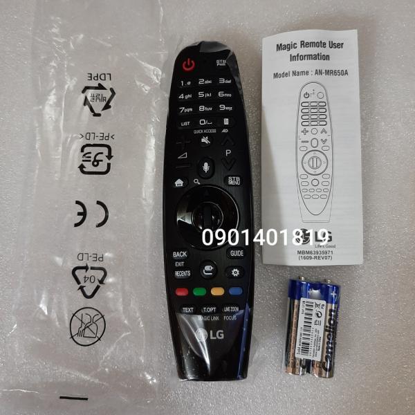 Bảng giá Điều khiển tivi LG magic 650(đời 2016) Hàng chính hãng