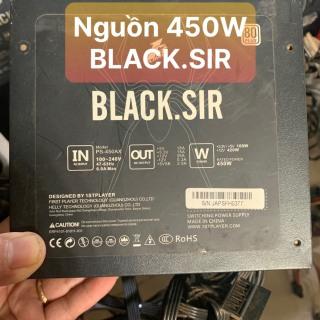 PSU BLACK.SIR 450W Công Xuất Thật Màu Đen - Fan 12 Và 2 Đầu Phụ Vga 8P Dành Cho Vga Cao - Vi Tính Bắc Hải thumbnail