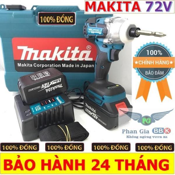 Máy Khoan Pin bắt vít 72V MIKITA 1 PIN, Mẫu 2019, Hộp Nhựa,Bảo Hành 1 Năm
